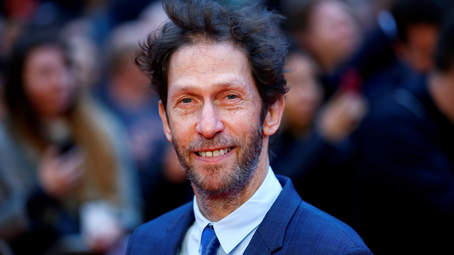 "Cast member Tim Blake Nelson arrives for the UK premiere of ""The Ballad of Buster Scruggs"" during the London Film Festival. October 12, 2018"