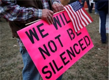 Protesters face GOP backlash