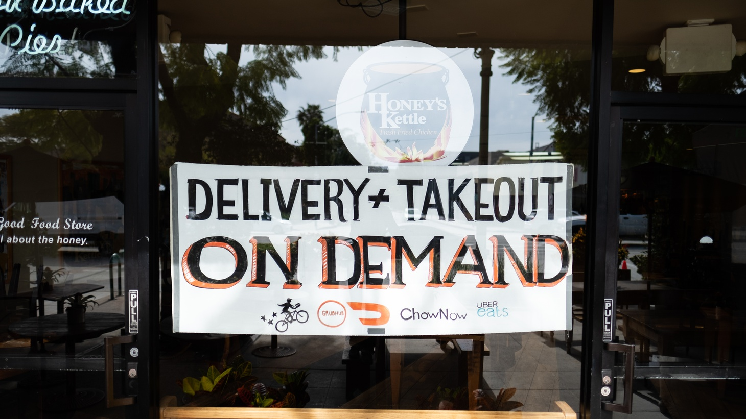 This restaurant in downtown Culver City, like many others in LA, is offering only takeout and delivery. And so, a new nonprofit is stepping up to help restaurants and medical workers with food during this coronavirus outbreak.