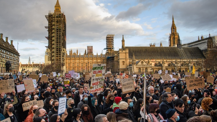 London residents are pushing Parliament to kill a bill that would give law enforcement officers more power to control protesters.