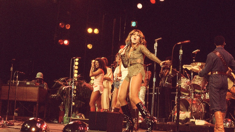 A new HBO documentary delves into Tina Turner's early years and turbulent relationship with her then husband Ike.