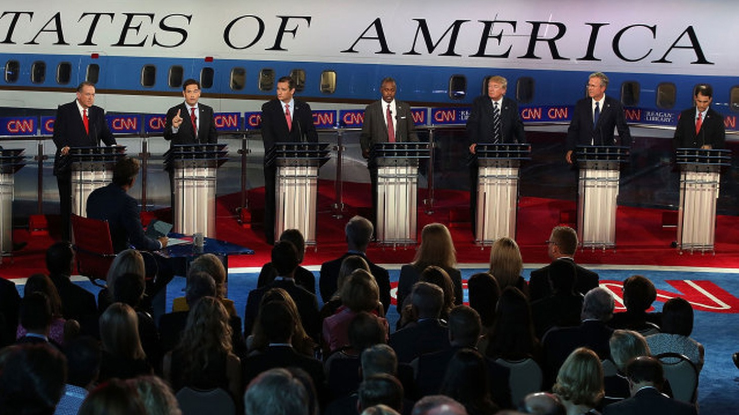 We recap last night's final debate between the Republican presidential candidates in Las Vegas. Later, we look at a different kind of campaigning going on as we enter film and television awards season.