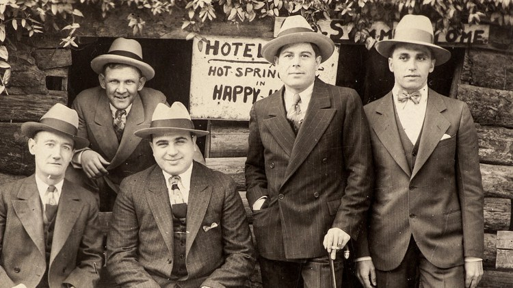 Al Capone was known for his Chicago bootlegging empire and violent battles with rival gangs.