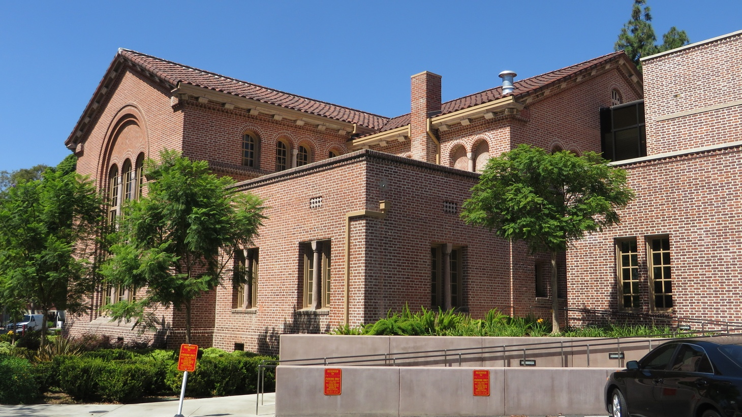 The USC University Club, University of Southern California (USC), Los Angeles, California