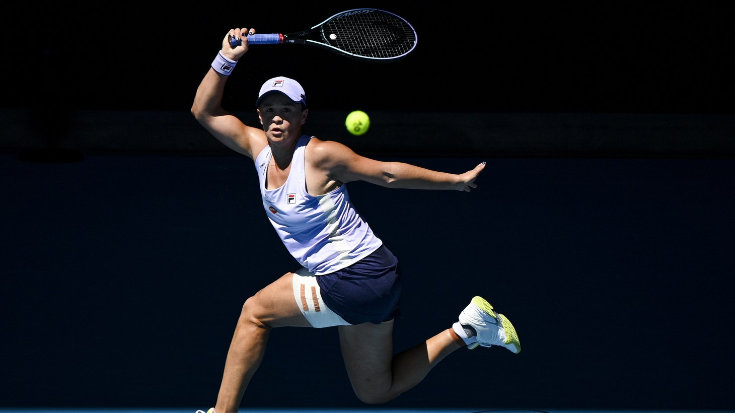 Australia's Ash Barty is the frontrunner to win the U.S. Open this year, says Ben Rothenberg, who's reporting on the U.S. Open for New York Times. In this photo, Barty plays during the quarter finals women's singles match against Karolina Muchova of the Czech Republic on Day 10 of the Australian Open at Melbourne Park in Melbourne, February 17, 2021.