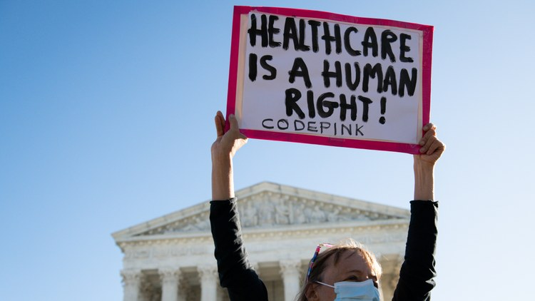 Obamacare faced its latest challenge in front of the Supreme Court today.