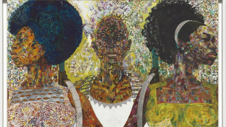 "A new exhibit at The Broad is called ""Soul of a Nation: Art in the Age of Black Power 1963−1983."""