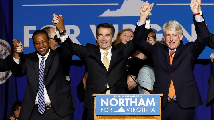 Virginia is in turmoil this week. Its top three officials are enmeshed in scandal: the governor, lieutenant governor and attorney general.