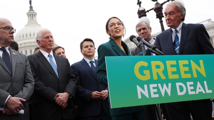 New York Congresswoman Alexandria Ocasio-Cortez is wasting no time in making good on her campaign promise to deliver sweeping climate change legislation.