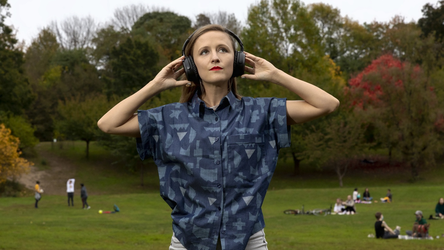 """Ellen Reid scored more than 20 miles of trails throughout Griffith Park for her app called """"Ellen Reid SOUNDWALK."""" The music is GPS-enabled, so what you hear is based on your specific location in the park."""