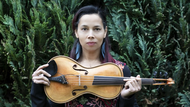 Rhiannon Giddens made her mark in music when her band the Carolina Chocolate Drops won a Grammy for Best Traditional Folk Album in 2011.