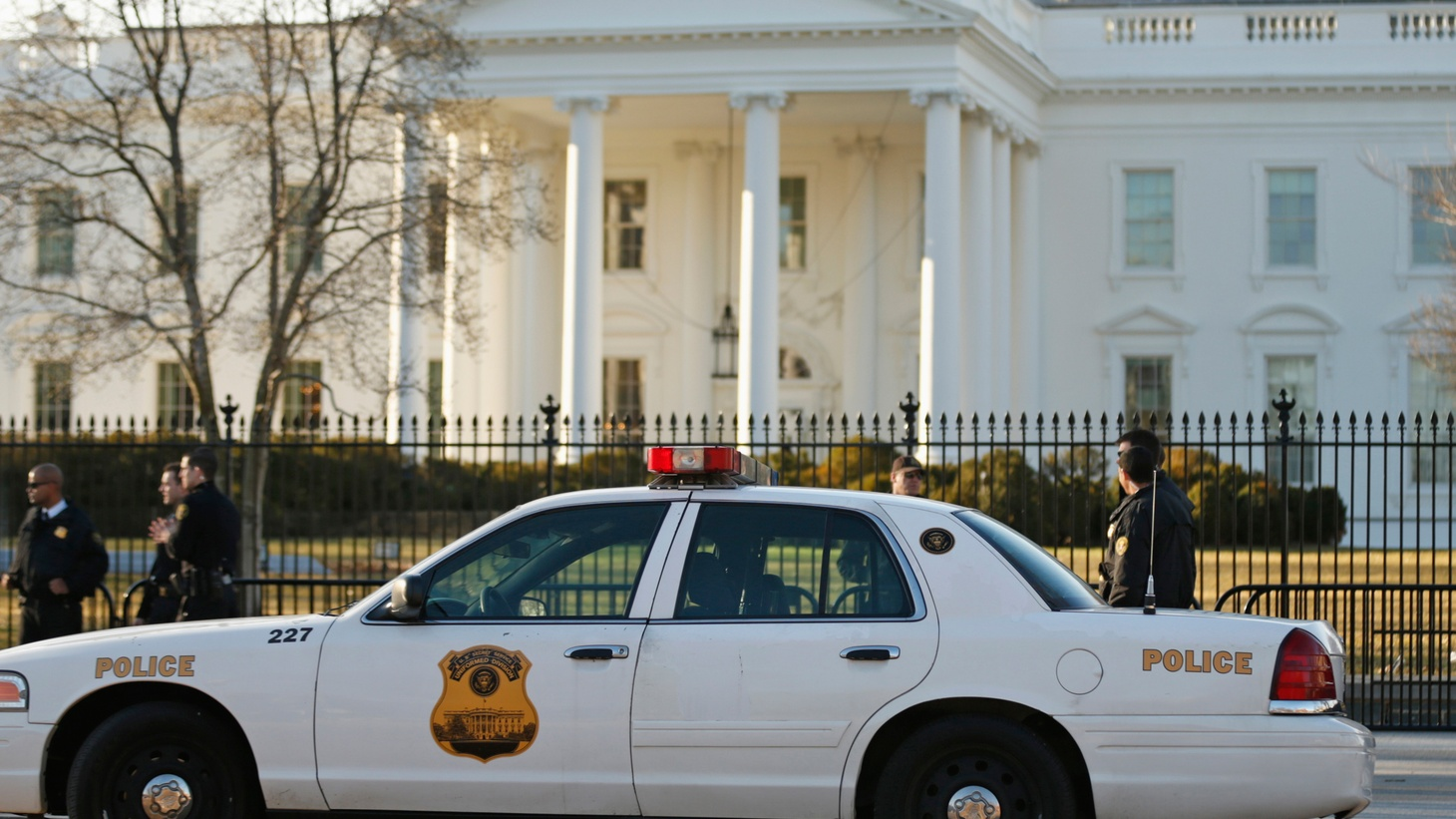 With President Obama in town, we start with a look at the latest Secret Service Scandal: two senior agents ran a government car into White House security barricades after apparently drinking. Why has the security agency had so many recent lapses?