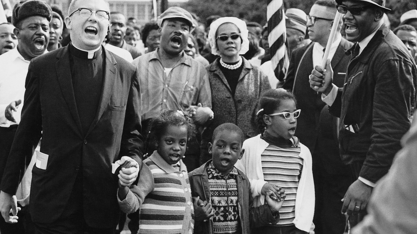 Today on Press Play, we hear from the filmmaker behind Selma, which portrays Martin Luther King, Jr.'s fight for the Voting Rights Act in 1965. And we hear from a historian from that period who discusses some of the criticism's about the film's accuracy.