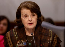 Sen. Dianne Feinstein faces an angry town hall crowd
