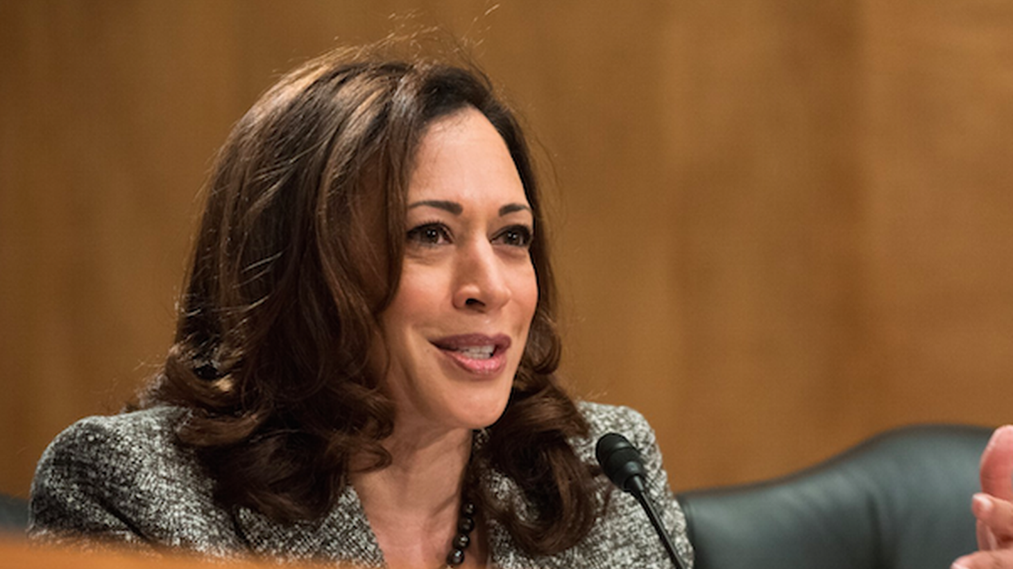 Democrats are waging an intense battle to block Judge Brett Kavanaugh from joining the Supreme Court. Moments after President Trump nominated him, California Senator Kamala Harris said she'd vote no.