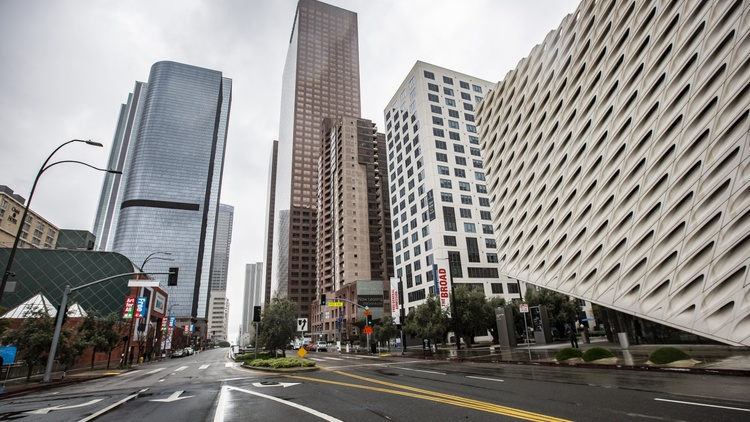 """How far is LA from a """"shelter-in-place"""" order, which the Bay Area has adopted? Mayor Garcetti says, """"It's not imminent. ..."""