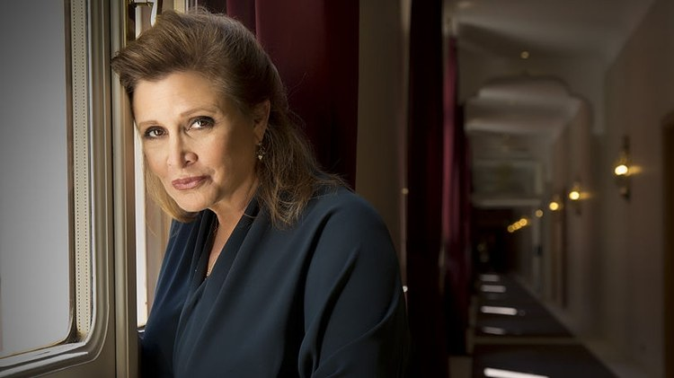 "Carrie Fisher portrayed Princess Leia in ""Star Wars,"" but she was also America's princess, born to Hollywood royalty."