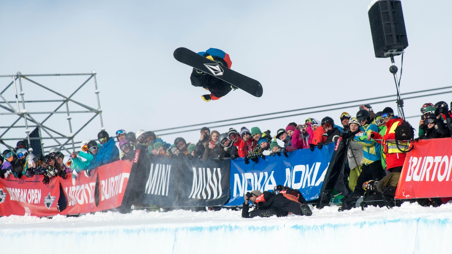 Snowboarding in Sochi brings an Olympic update, mutts are allowed in the Westminster Kennel Club Dog Show, and the latest in television news.