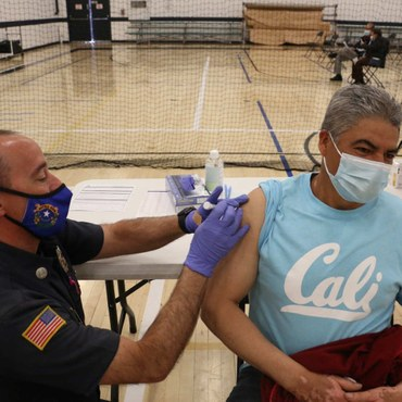 Latinos make up less than 40% of the California population — but more than 55% of the state's coronavirus cases.