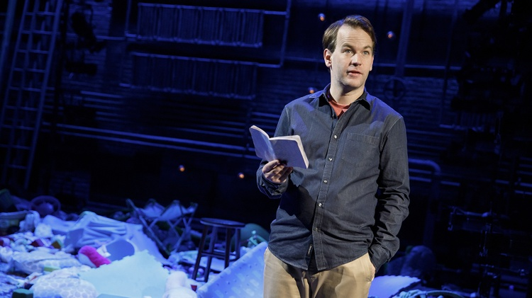 Mike Birbiglia never really wanted a kid.