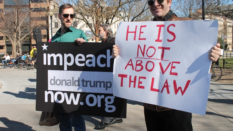 The impeachment inquiry enters a new public phase this week. Senior diplomats Bill Taylor and George Kent are scheduled to testify on Capitol Hill on Wednesday.