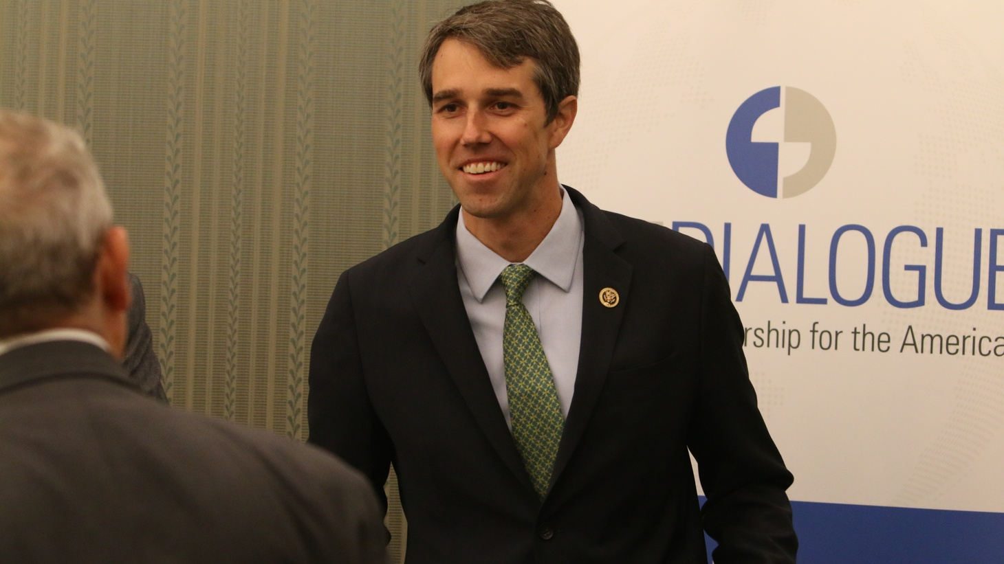 Beto O'Rourke at the Inter-American Dialogue in 2016.