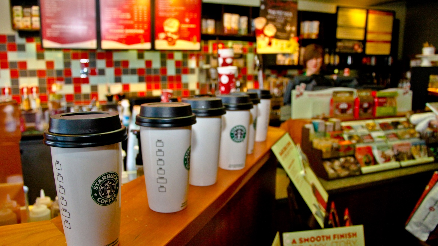 """Starbucks offers free tuition, the state of the ivory trade, suing LA's biggest banks, """"tastemakers,"""" and our weekly TV roundup."""