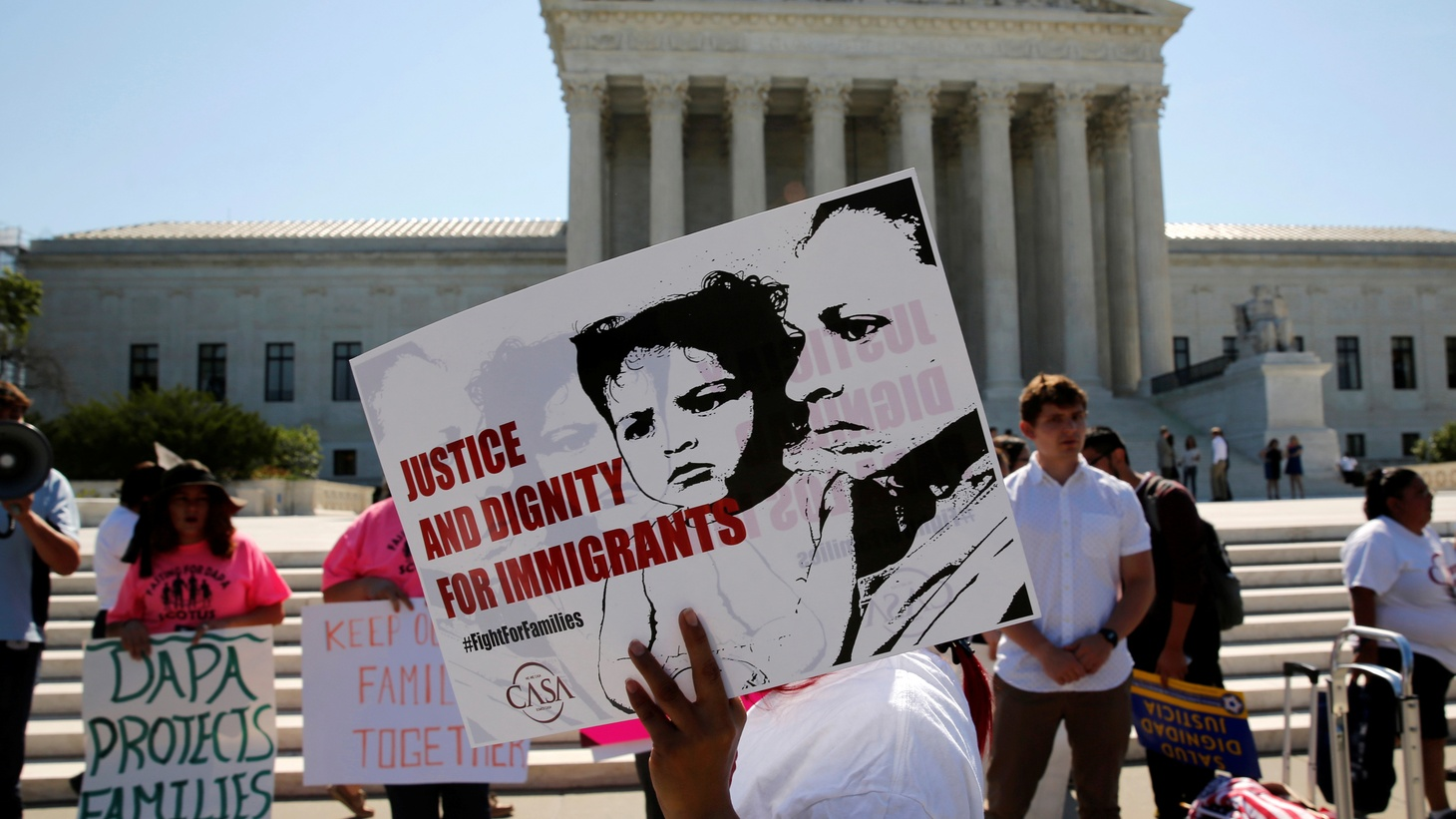 Two U.S. Supreme Court decisions out Thursday have major implications. The 4-4 tie on President Obama's immigration plan effectively blocks the president's actions protecting some 5 million undocumented immigrants from deportation. The court also decided to uphold affirmative action in a Texas case.