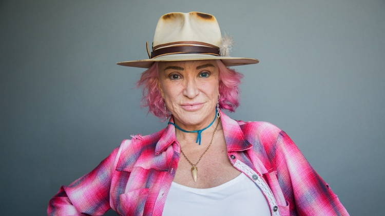 "Country singer Tanya Tucker was only 13 years old when her first single ""Delta Dawn"" became a major success."
