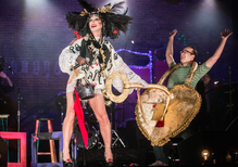 Taylor Mac takes on U.S. history in 246 songs, two dozen costume changes