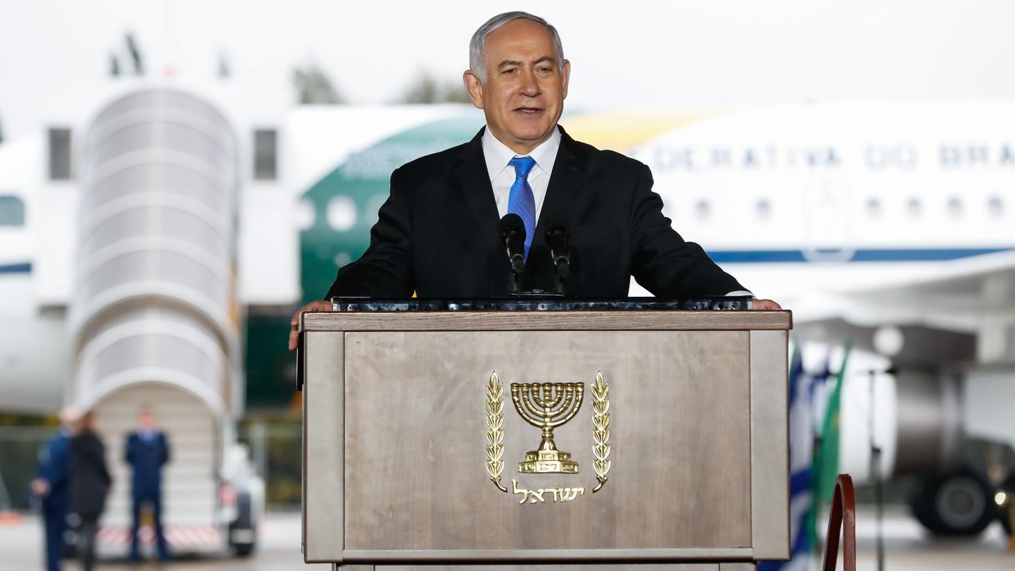 Benjamin Netanyahu in Tel Aviv, March 2019.