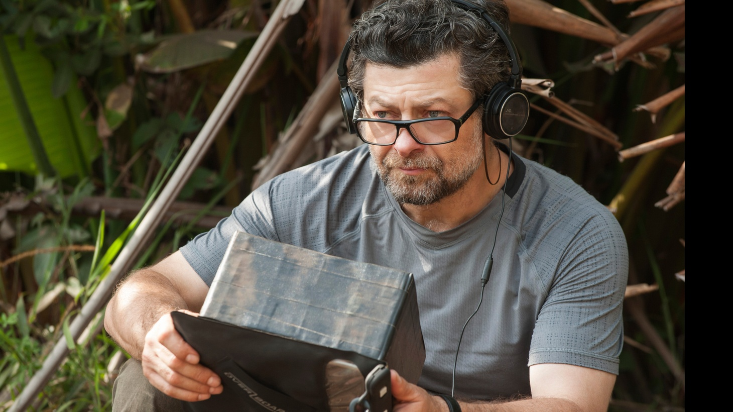 "Andy Serkis directing ""Mowgli: Legend of the Jungle."""