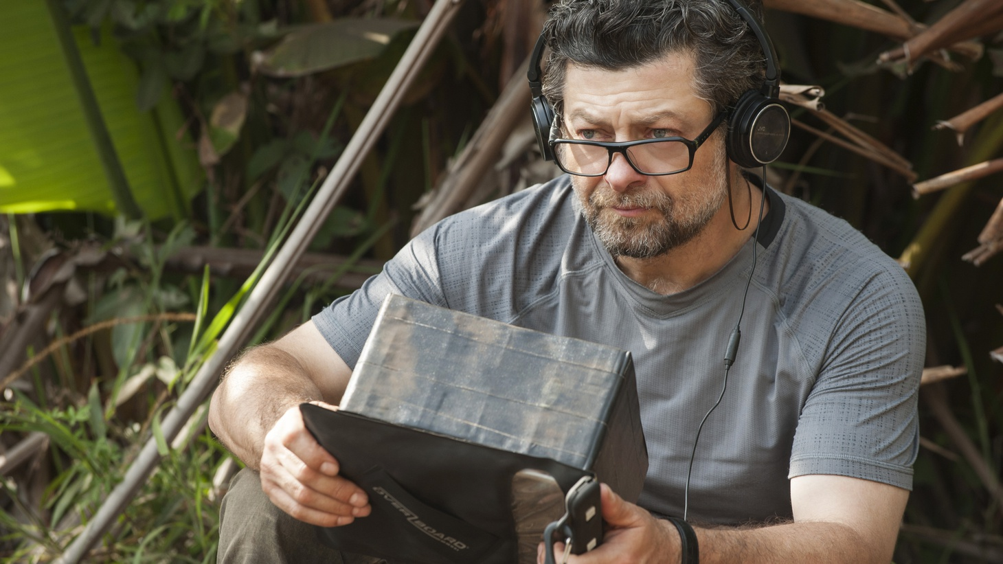 """Andy Serkis directing """"Mowgli: Legend of the Jungle""""."""