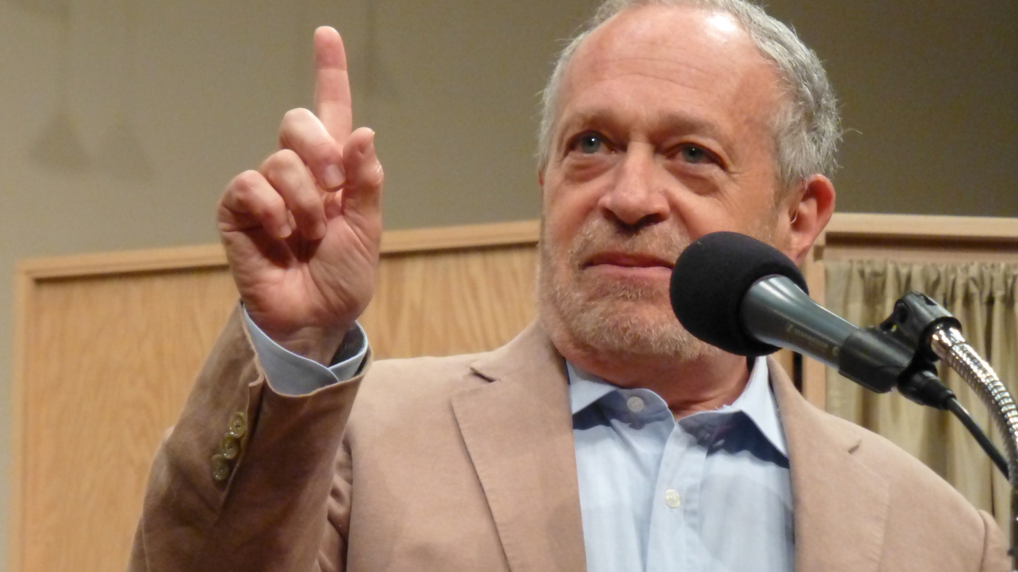 Former Labor Secretary Robert Reich says both Bernie Sanders and Donald Trump are right about the role of wealth and power in America. And art critic Jerry Saltz discusses celebrities who have turned to the fine arts.