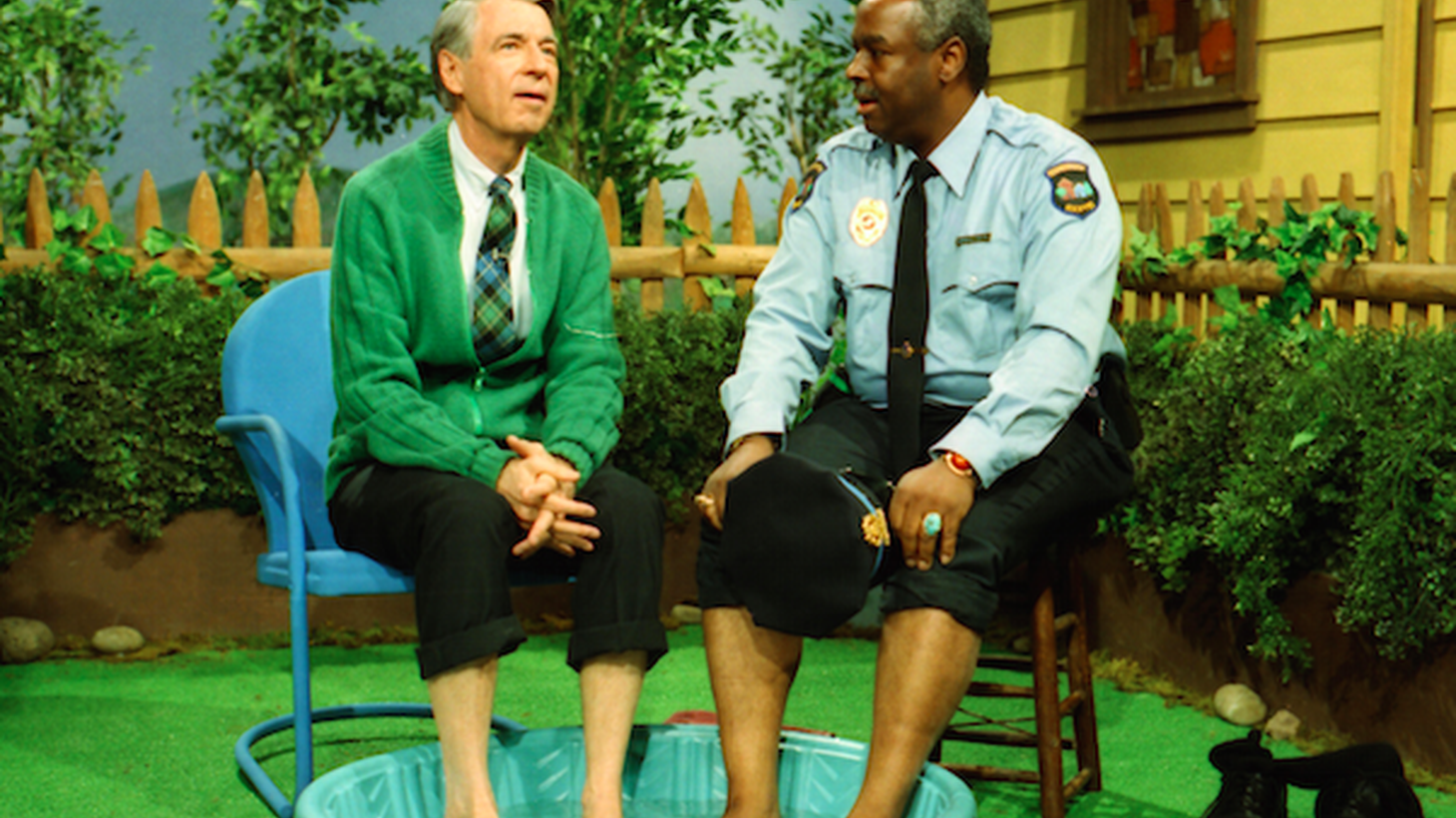 """This year marks the 50th anniversary of the debut of """"Mister Rogers' Neighborhood."""" A new documentary explores the impact Mister Rogers had on generations of children and adults."""