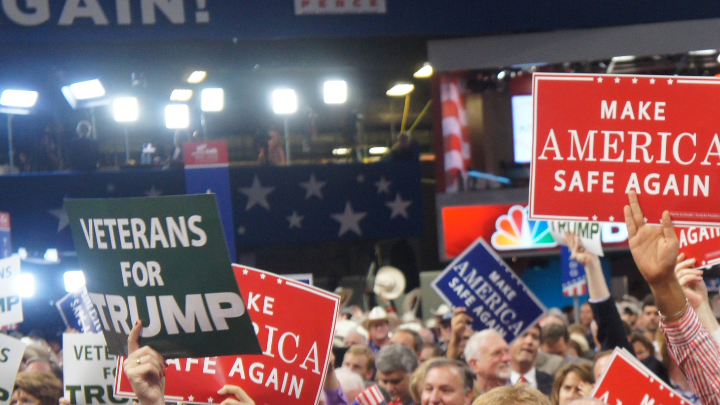 Latinos attending the convention share why they are supporting the Republican candidate and a pollster explains where voting trends could be headed for Latinos over the coming decades.