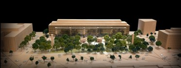 Frank Gehry's Eisenhower Memorial design plan
