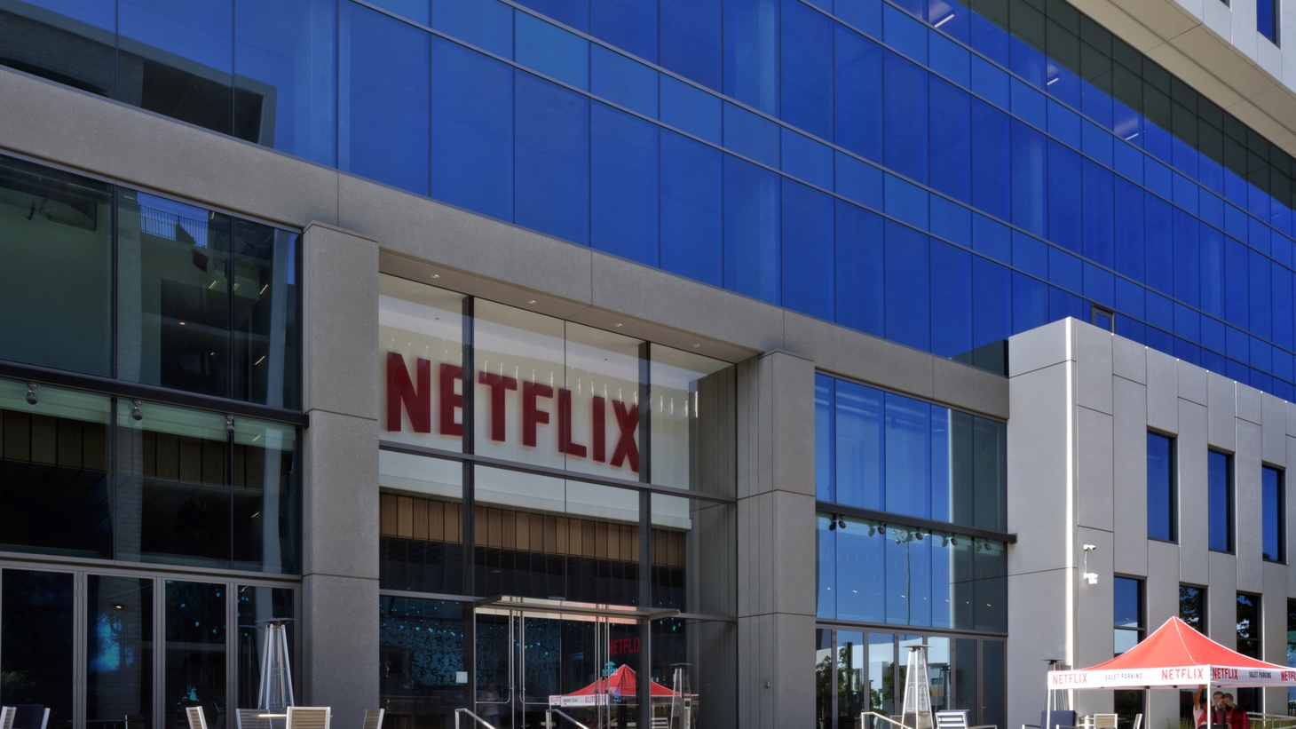Netflix headquarters in Los Angeles.