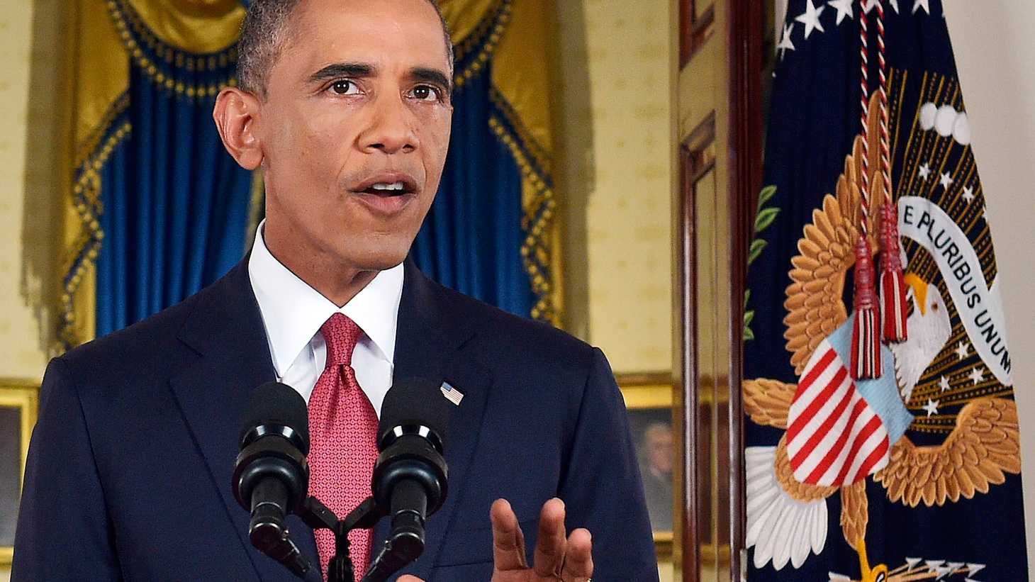 President Obama made a case last night for carrying out a campaign of airstrikes in Syria to fight the radical Islamist group ISIS, also known as ISIL, or the Islamic State. How much was his speech about national security, and how much was it about domestic politics?