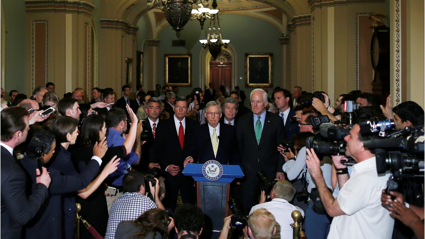 The Senate GOP bill to replace Obamacare is dead -- for now. Several senators have come out against the idea to immediately repeal the current health care law. So now what? Will Republicans suffer politically in next year's midterm elections? What does this mean for their agenda and their party?