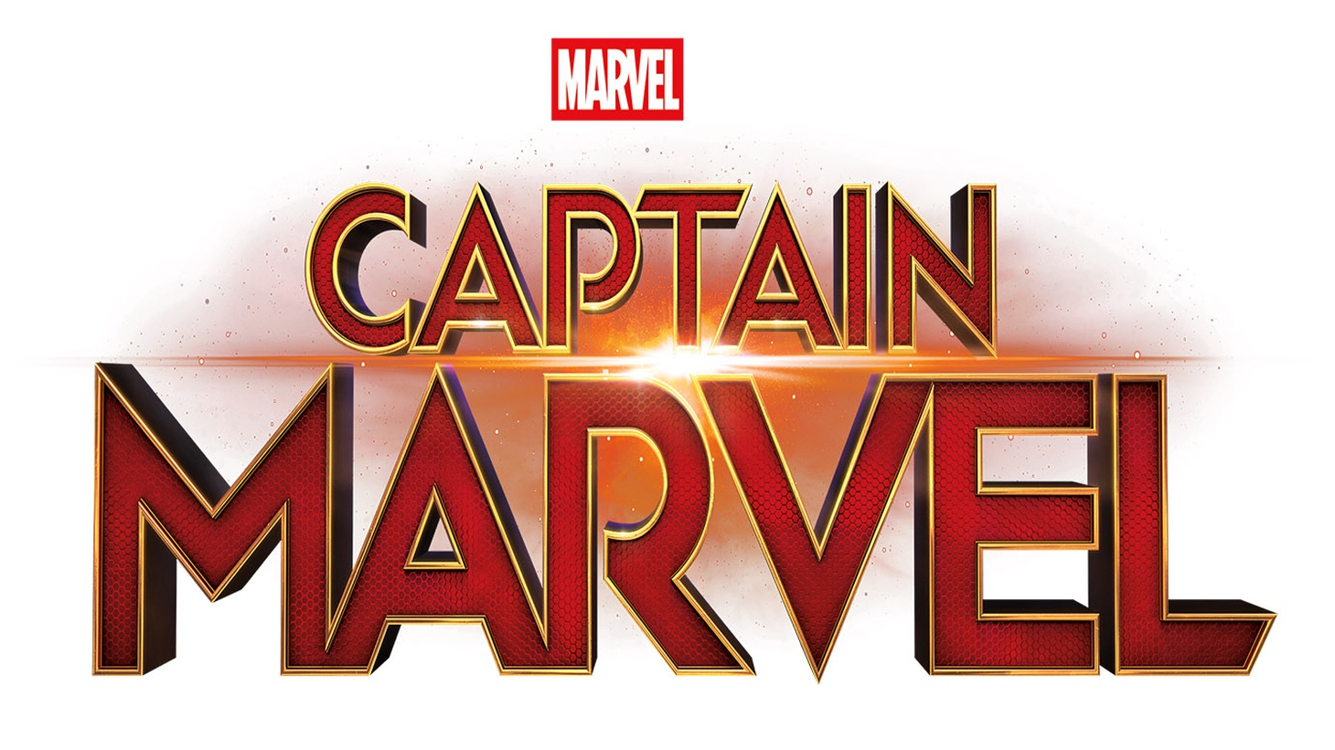 Captain Marvel logo.