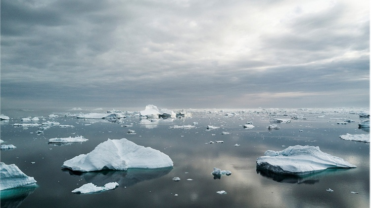 The ice melting in the Arctic has reached a record low this year. That means that there are parts of the Arctic Ocean that are now accessible to navigation for the first time.