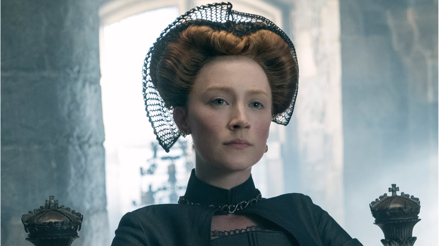 Saoirse Ronan stars as Mary Stuart in Mary Queen of Scots.