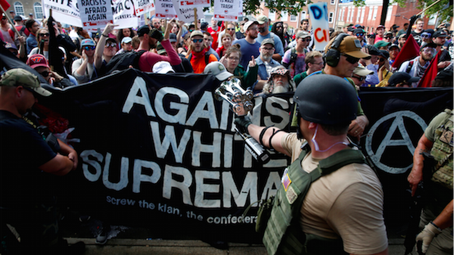 It took President Trump two days to directly condemn white supremacists after they rampaged through Charlottesville, Virginia, inciting violence. One woman was killed and two state troopers died in a related accident.
