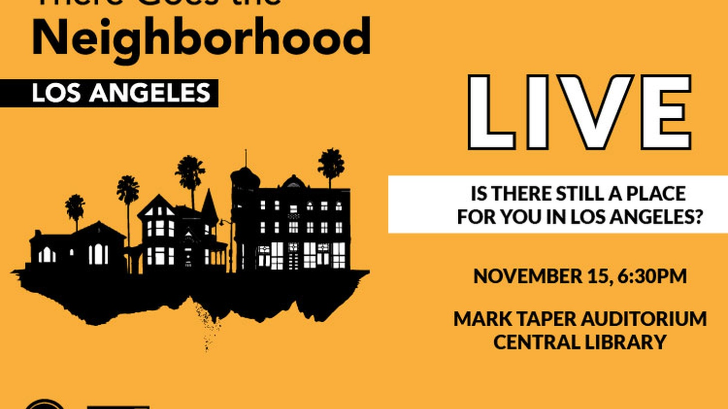 """In this podcast bonus, four guests discuss solutions to high housing costs and gentrification in Los Angeles. Recorded live at the Central Library on Nov. 15 and moderated by """"Press Play"""" host Madeleine Brand, this event was a companion to the KCRW-WNYC podcast series """"There Goes the Neighborhood."""""""