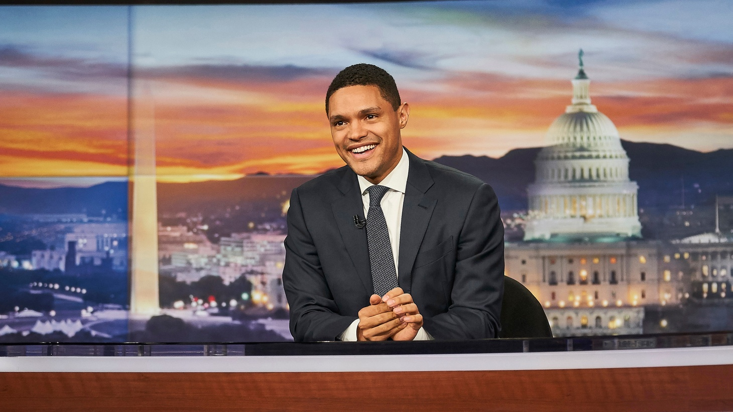 On Tuesday night, Trevor Noah spoke to Omarosa Manigault Newman, who's been on the TV circuit promoting her anti-Donald Trump book. Trevor Noah has hosted The Daily Show for nearly three years. Now he's nominated for an Emmy for the first time.