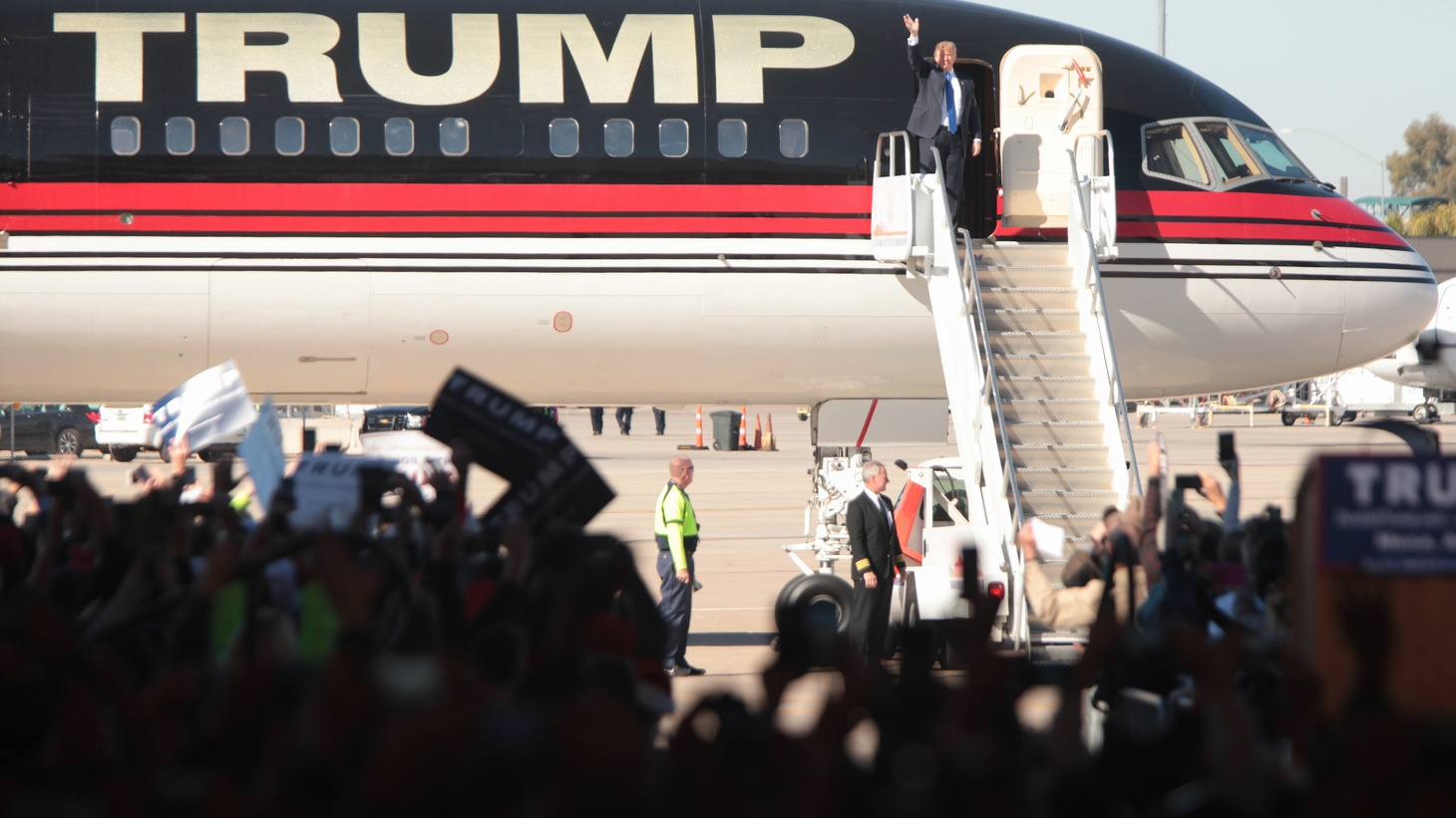 Donald Trump's recent trip to Mar-a-Lago and Eric Trump's trip to Uruguay raise questions of what taxpayers should pay for, as well as the blurred lines between the Trumps' business holdings and official U.S. business.
