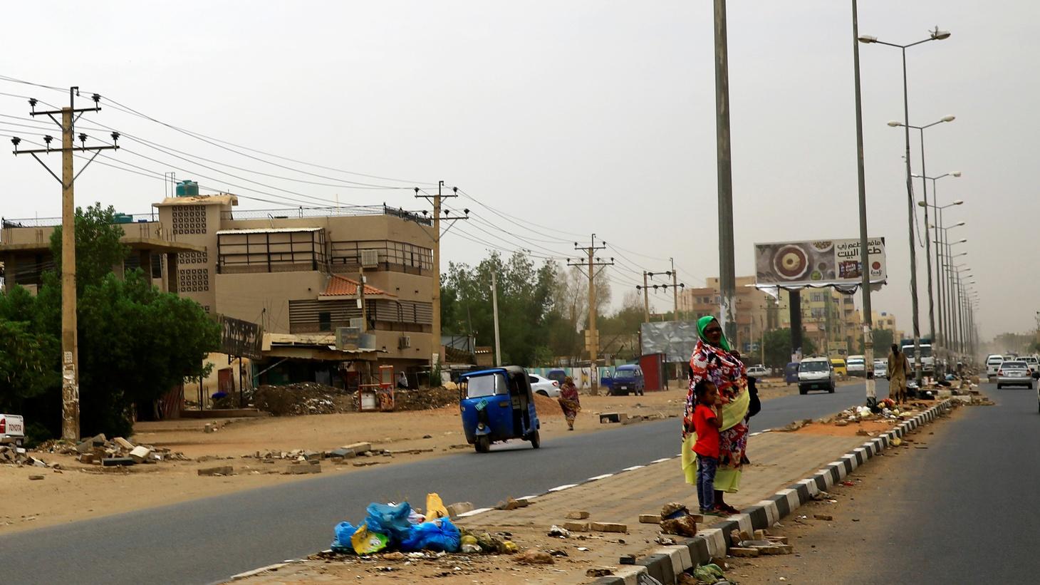 A street in Khartoum, Sudan, June 11, 2019.
