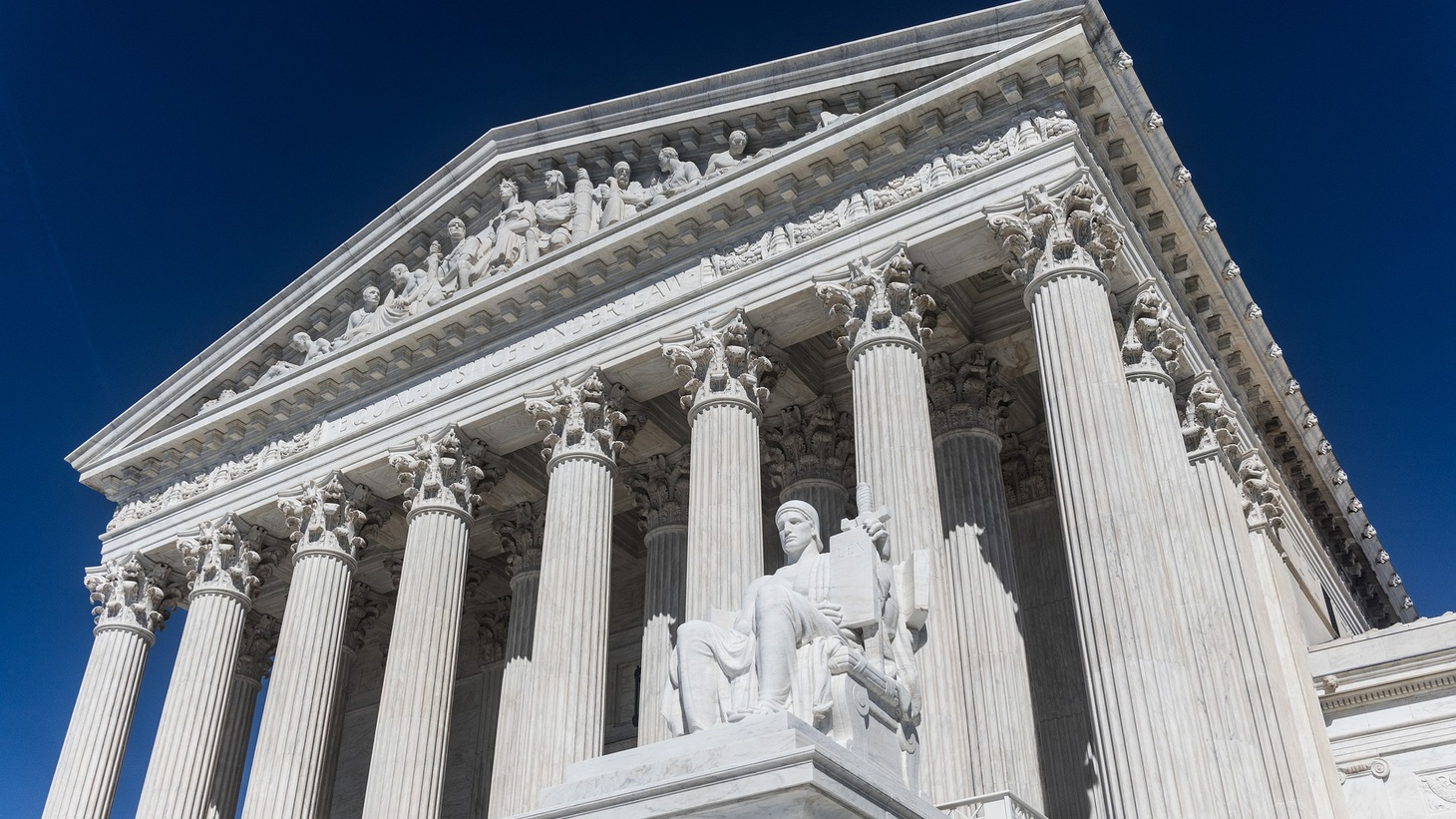 The Supreme Court justices heard oral arguments in a conference call for the first time today.