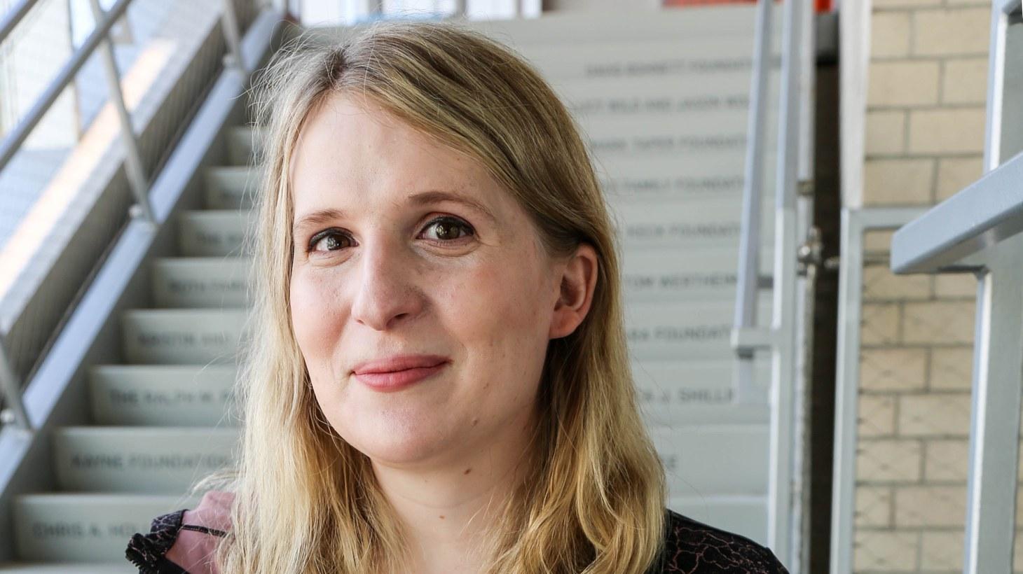 Author Samantha Allen.